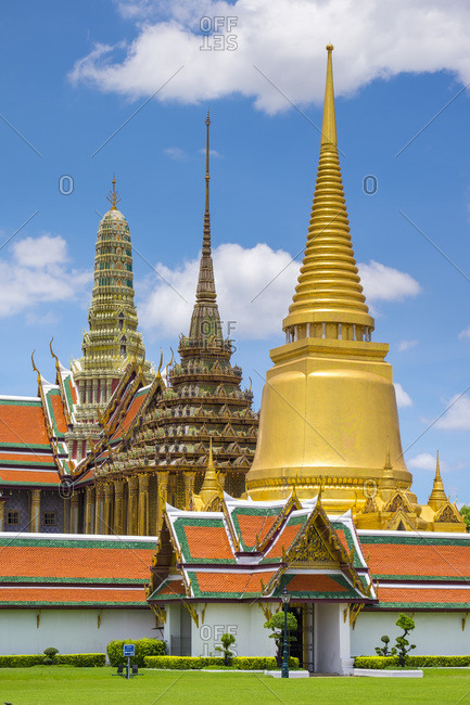 Temple of the Emerald Buddha (Wat Phra Kaew), Grand Palace, Bangkok