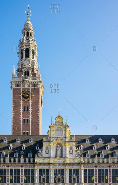 Centrale Bibliotheek (Central Library), Leuven, Flemish Brabant, Flanders, Belgium
