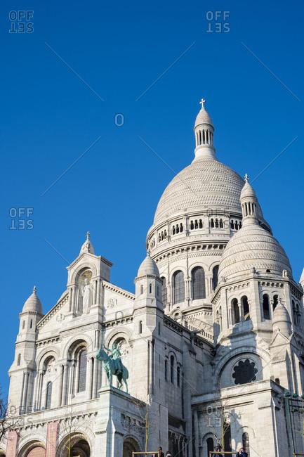 Basilica of Sacre Coeur, Montmartre, Paris, Île-de-France, France