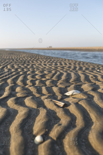 Denmark- Romo- Rippled beach sand