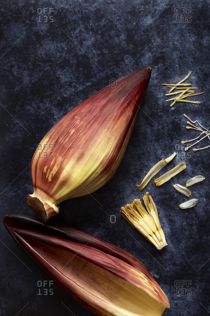 Parts of a Banana Heart Deconstructed
