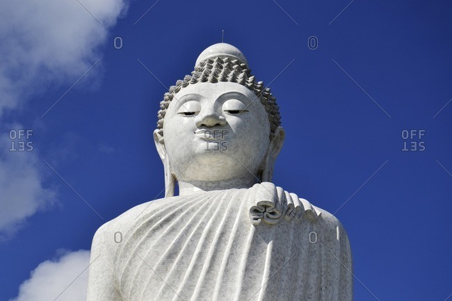 The Big Buddha, world's largest Buddha figure, Phuket Island, Southern Thailand, Southeast Asia