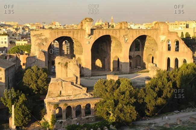 Maxentius Basilica, Roman Forum, Rome, Italy, Southern Europe, Europe
