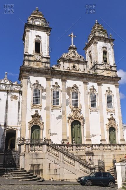 August 9, 2010: Ordem Terceira do Carmo Church, Pelourinho, Salvador da Bahia, Bahia, Brazil, South America