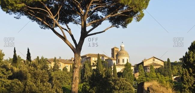 Basilica of Santi Giovanni e Paolo, Rome, Italy, Southern Europe, Europe