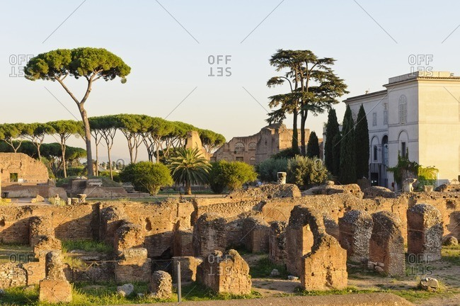 Ruins, Roman Forum, Rome, Italy, southern Europe, Europe