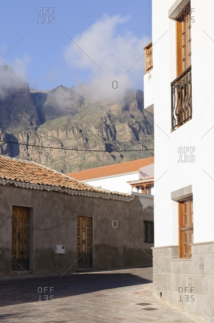 Mountain village Tejeda, Gran Canaria, Canary Islands, Spain