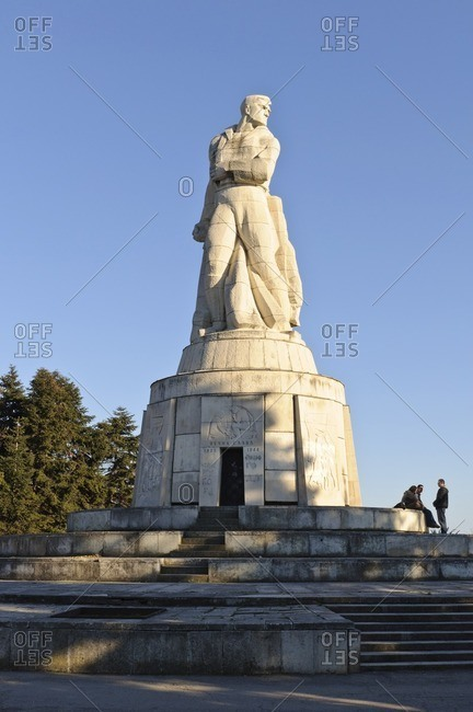 April 25, 2011: Liberator Monument, Primorski Park, Varna, Bulgaria, Balkans, Southeast Europe