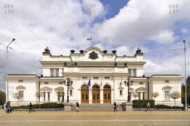 April 28, 2011: Bulgarian National Assembly, Sofia, Bulgaria, Balkans, South-East Europe