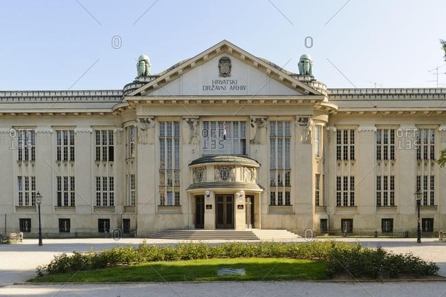 May 6, 2011: Croatian National Archives, Zagreb, Croatia, Balkans, Southeast Europe