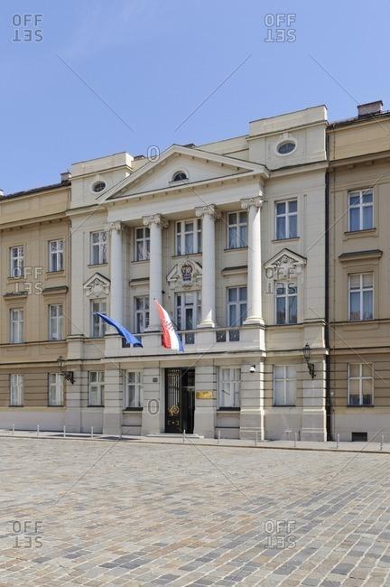 May 7, 2011: Croatian Parliament, Zagreb, Croatia, Balkans, Southeast Europe