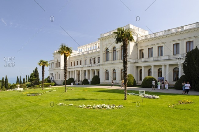 May 31, 2011: Livadia Palace, Yalta, Crimea, Ukraine, Eastern Europe