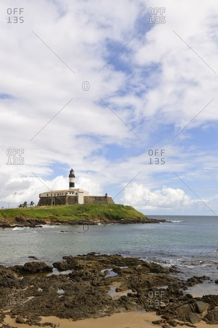 Barra lighthouse, Salvador da Bahia, Bahia, Brazil, South America