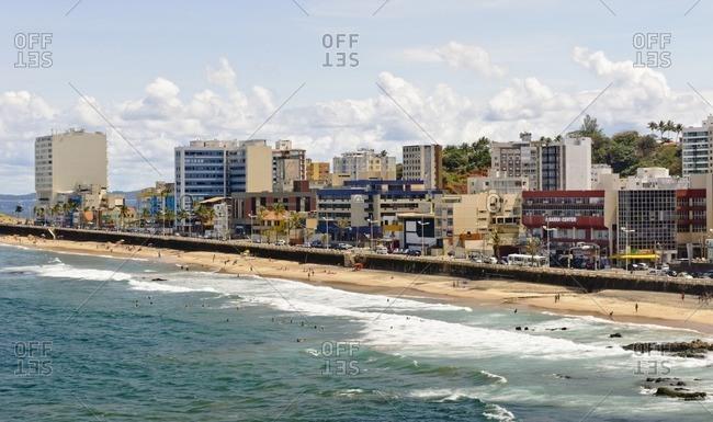 August 7, 2010: Barra coast, Salvador da Bahia, Bahia, Brazil, South America
