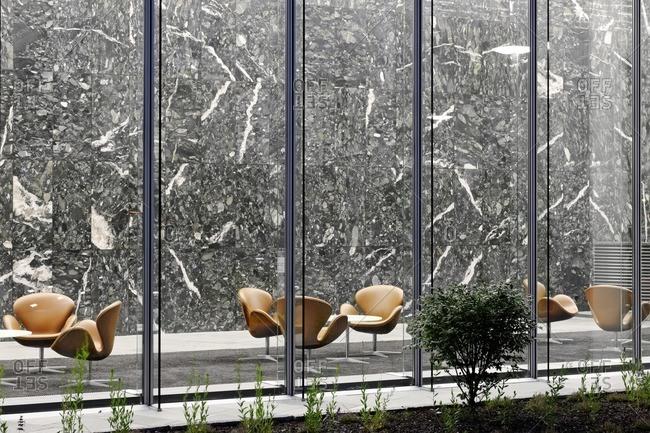 Foyer and lobby, Emporio Quartier, Neustadt, Hamburg, Germany