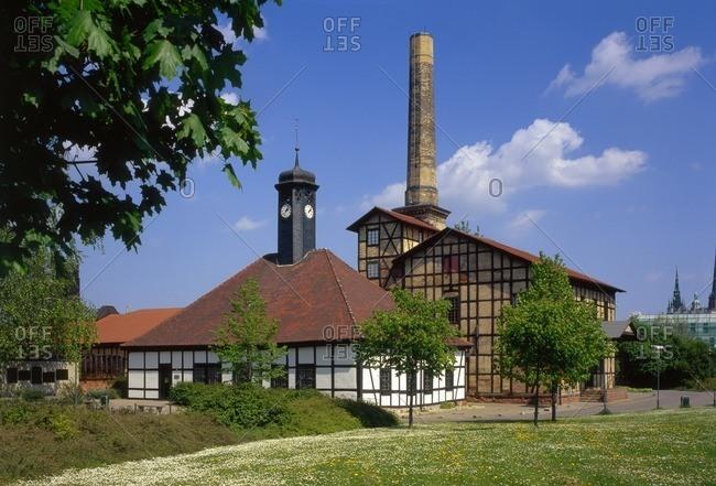 Halloren- und Salinemuseum in Halle / Saale, Saxony-Anhalt, Germany