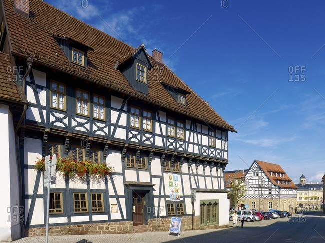 September 11, 2011: Lutherhaus in Eisenach, Thuringia, Germany