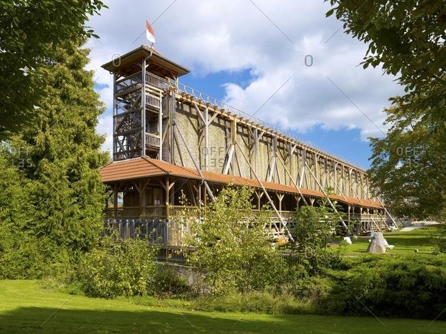 Gradierwerk Bad Sooden-Allendorf, Werra-Meissner-Kreis, Hesse, Germany