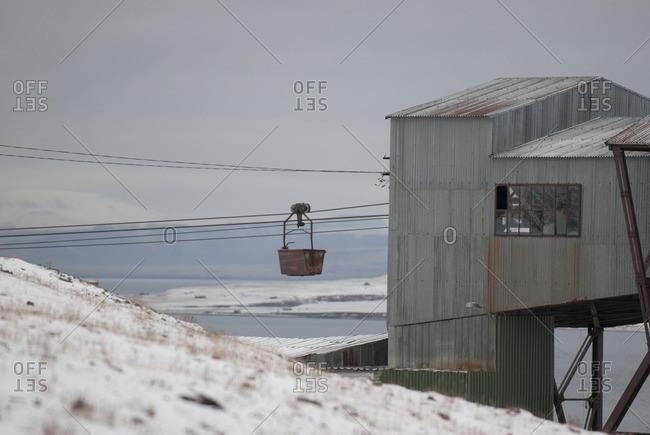 Mine in Spitsbergen, Norway, Europe