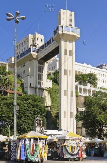 August 9, 2010: Elevador Lacerda, Cidade Baixa / Alta, Salvador da Bahia, Bahia, Brazil, South America