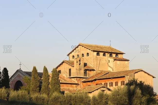 San Bonaventura al Palatino, Palatine Hill, Rome, Italy, Southern Europe, Europe
