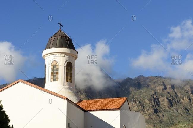 Church of Tejeda, Gran Canaria, Canary Islands, Spain
