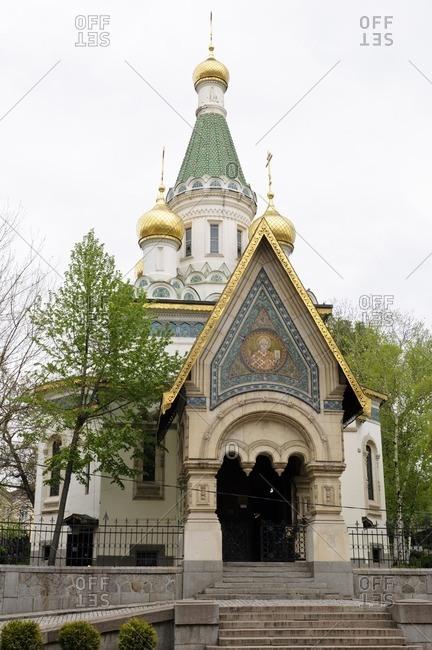 St. Nicholas Church, Sofia, Bulgaria, Balkans, Southeast Europe