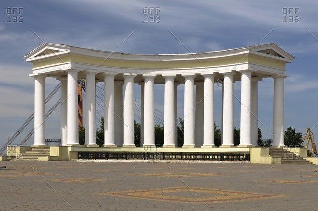 Colonnade of the Vorontsov Palace, Odessa, Ukraine, Eastern Europe