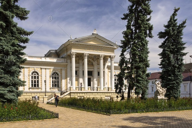 June 3, 2011: Archaeological Museum, Odessa, Ukraine, Eastern Europe