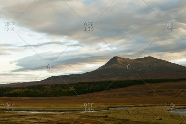 Autumn in the Scottish Highlands, Scardroy, Scotland, Great Britain
