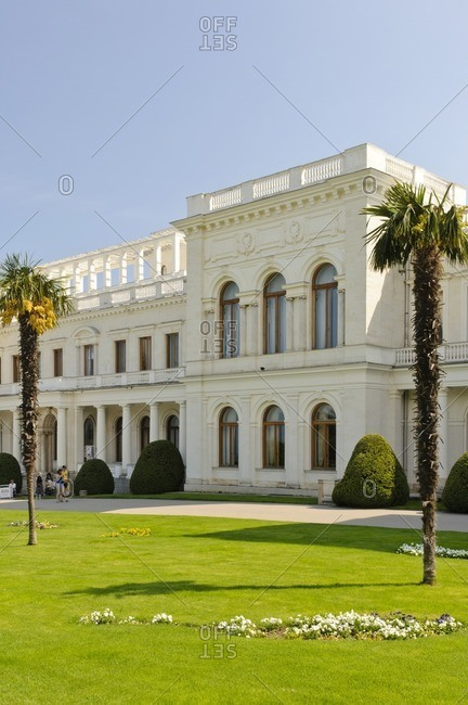 Livadia Palace, Yalta, Crimea, Ukraine, Eastern Europe