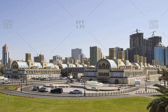 Old Souk, Shopping Center, Emirate of Sharjah, United Arab Emirates, Arabian Peninsula, Middle East