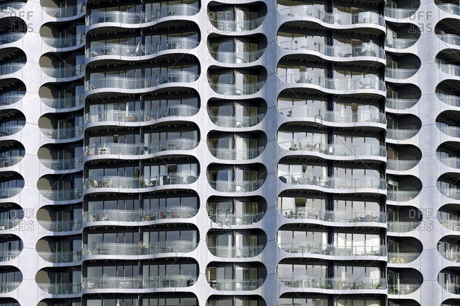 May 19, 2012: Modern architecture, Sluseholmen, Copenhagen, Denmark, Europe