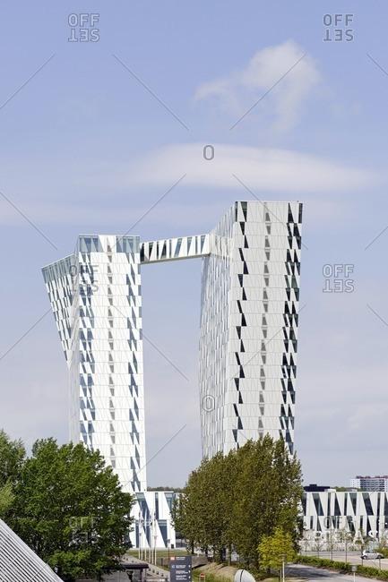 May 18, 2012: Design hotel Bella Sky, Orestad, Amager, Copenhagen, Denmark