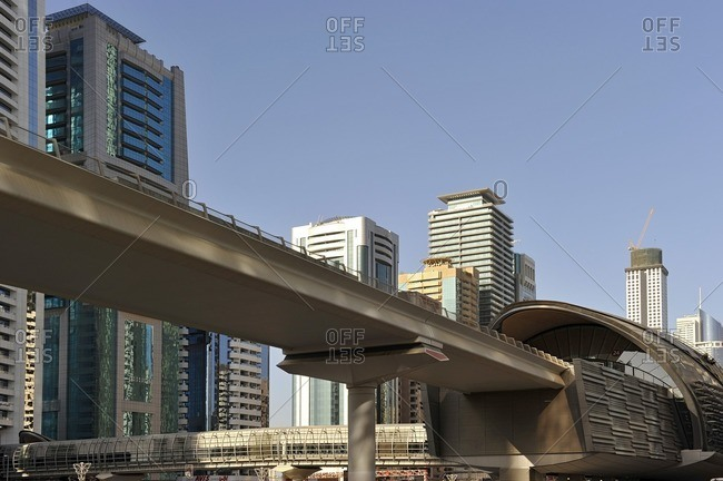RTA Metro Station, Dubai, United Arab Emirates