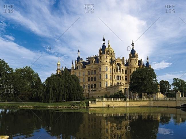 Schwerin Castle, Mecklenburg-West Pomerania, Germany