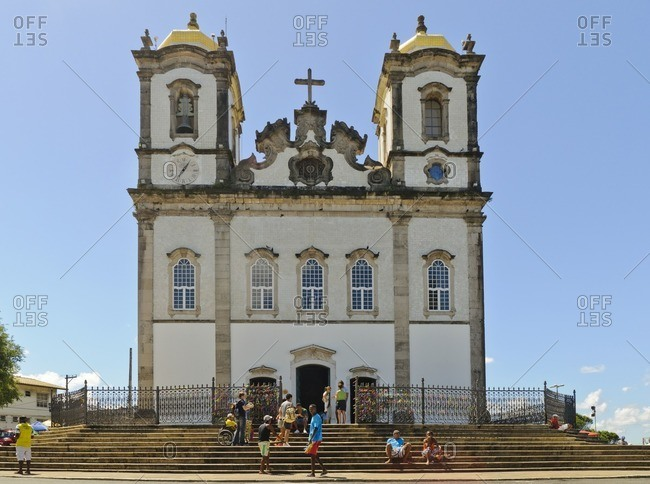 August 10, 2010: Church of Nosso Senhor do Bonfim, Salvador da Bahia, Bahia, Brazil, South America