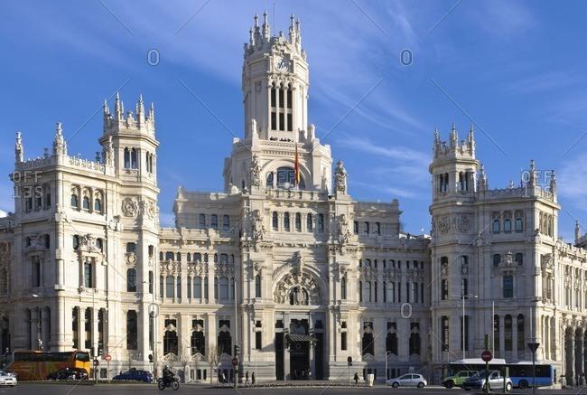 February 21, 2012: Madrid city hall, Spain