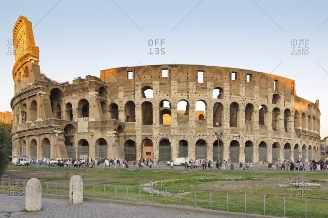 October 5, 2011: Colosseum, Rome, Italy