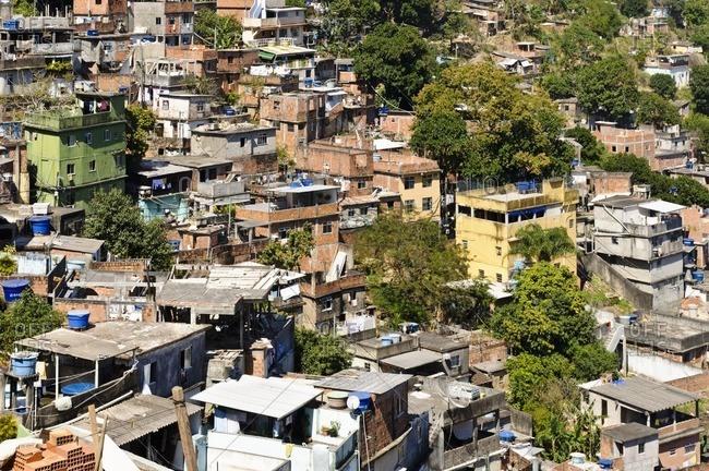 Rocinha Favela, Rio de Janeiro, Brazil, South America
