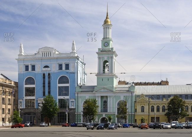 May 29, 2011: National Bank branch, Kiev, Ukraine, Eastern Europe