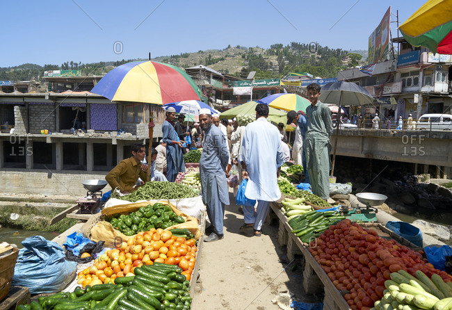May 1, 2019: Battagram, Pakistan; 1 May 2019; Battagram is a small town along the Karakorum Highway. The lively bazaar is especially attractive. The population is more conservative muslims. In the past the place has been visited by Talibans from the neighbouring Afghanistan. Because of the more conservative atmosphere, no women can be seen on the streets and the men are mostly from local tribal areas, not far from Afghanistan