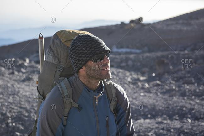 Mountain guide Alejandro Cruz at the Pico de Orizaba