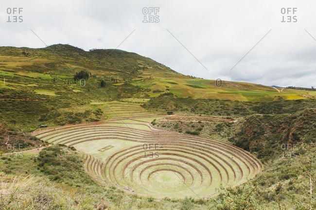 The famous Peruvian spot Moray in Peru