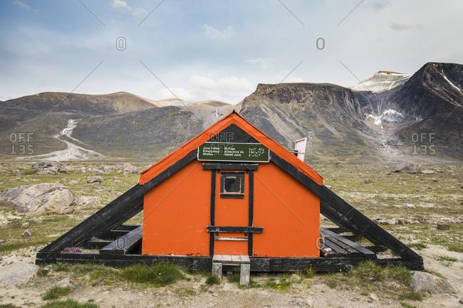 June Valley Emergency Shelter, Akshayak Pass, Auyuittuq National Park