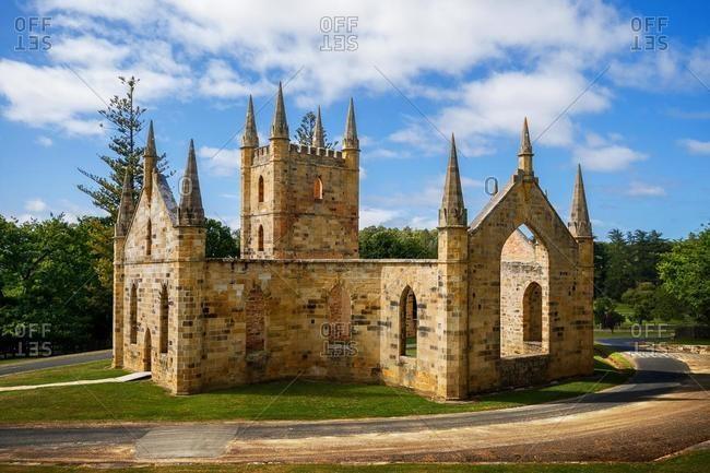 Church Ruins, Port Arthur, Tasmania, Australia