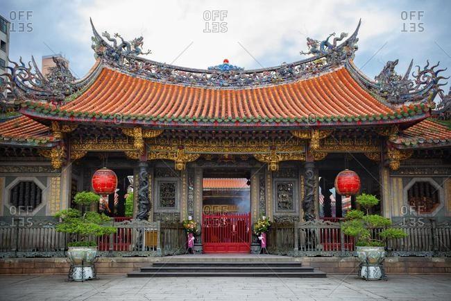 Lungshan Temple of Manka, Wanhua District, Taipei, Taiwan