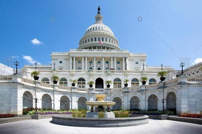 Capitol Building, Capitol Hill, National Mall, Washington DC, USA