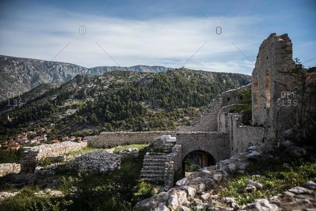 Old ruins, Stolac, Bosnia - Offset