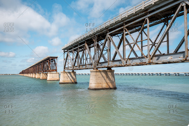 Bahia Honda Rail Bridge- Florida Keys- USA